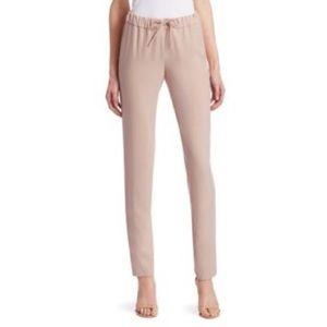 Akris Punto Mike Blush Rosa Pink Trouser Pant NEW